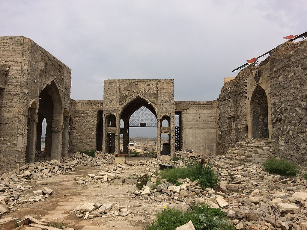 Image showing destruction caused by Daesh in Ninewa, Iraq, taken by the UNESCO Mission